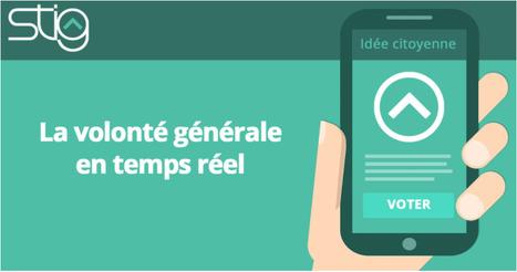 Stig - l'app de démocratie PARTICIPATIVE - Civic Tech | actions de concertation citoyenne | Scoop.it