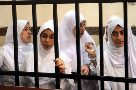 Appeal date set for Egypt female protesters | Cultural Geography in the Middle East and South Asia | Scoop.it