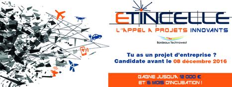 La technopole Bordeaux Technowest lance l'appel à projets Etincelle | Réseaux sociaux | Scoop.it