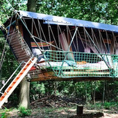This Hanging Hotel Made of Recycled Materials Is Definitely Weird, Maybe Wonderful | all about hotel design | Scoop.it