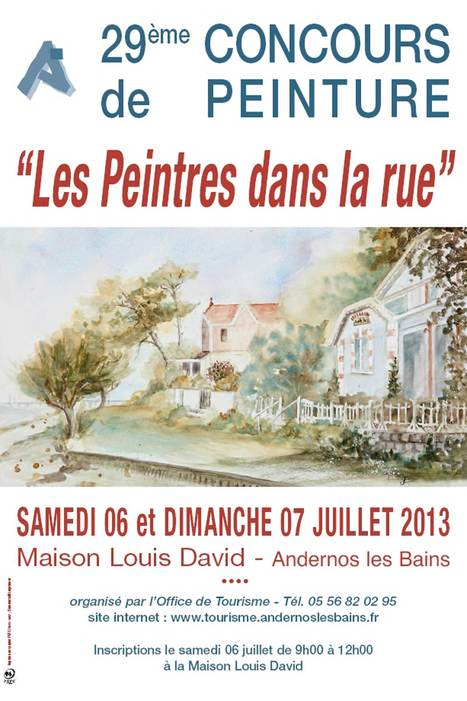 Concours « Les Peintres dans la rue » à Andernos - le 6 et 7 juillet - 29ème édition | Le Bassin d'Arcachon | Scoop.it