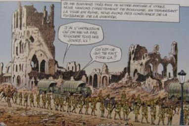 La guerre 14-18 à Ypres en BD... | Nos Racines | Scoop.it