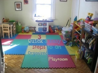 3 Quick and Easy Steps to an Organized Playroom | Lassootheweb | Scoop.it