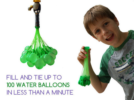 Bunch O Balloons: 100 Water Balloons in Less Than 1 Minute | e-tail & Retail Logistics and Supply Chain Intelligence | Scoop.it