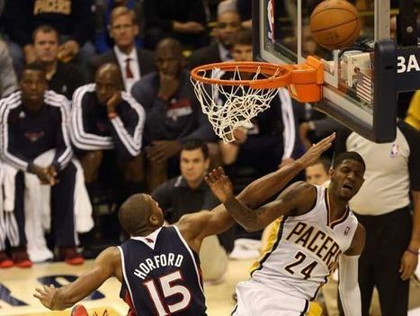 :.: Enorme Paul George na vitória de Indiana - Jornal Record :.: | NBA - National Basketball Association | Scoop.it