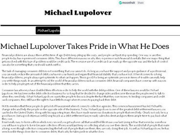 Michael Lupolover | Michael Lupolover | Scoop.it