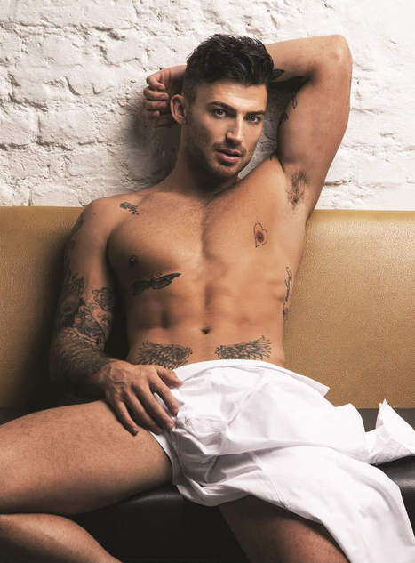 Jake Quickenden Shirtless in Attitude Magazine Latest Issue | Celebrity Hunks | Scoop.it