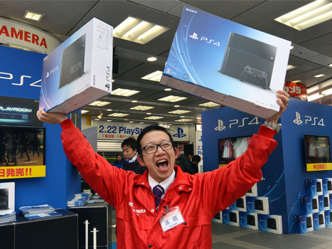 PlayStation 4 follows Xbox One into China | Technology | Scoop.it