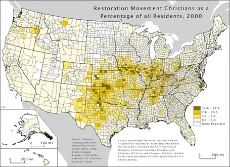 Religious Geography of the United States | Geographic Information Technology | Scoop.it