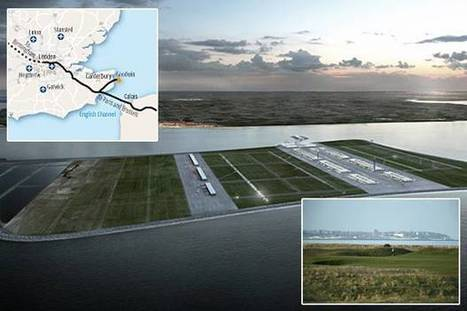 Unveiled: £40bn hub airport on new island in Channel | London Aviation and Airports | Scoop.it