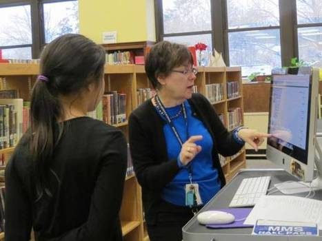 Millburn Middle School's library lessons timeless | School Library Advocacy | Scoop.it
