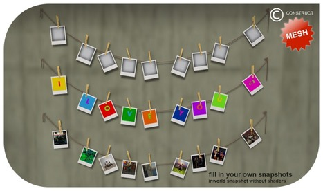 Mesh Polaroid Rope by CONSTRUCT Furniture | Teleport Hub (Expires on 02/23/2013) | Second Life Freebies | Scoop.it