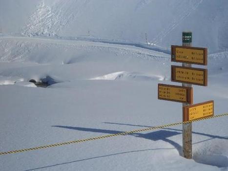 Une petite idée de la hauteur de neige à 2000 mètres hier... | Trail en france | Scoop.it