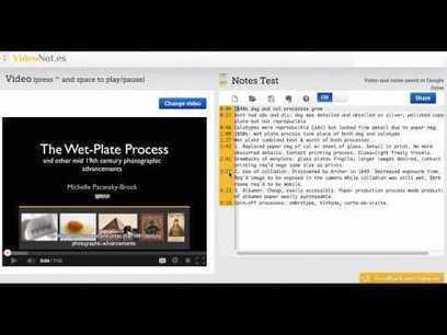 videonot | יצירת תוכן עניינים לסרטון | כלים ותוכנות | Scoop.it