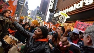 US fast-food workers in strike | Activism, Protest, Citizen Movements, Social Justice | Scoop.it