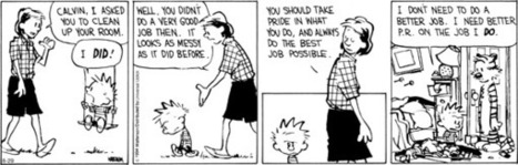 Calvin and Hobbes by Bill Watterson, August 29, 2014 Via @GoComics | Biotech, hightech & innovation | Scoop.it