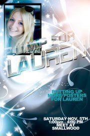 P.U.M.P 4 Lauren (Putting Up More Posters for Lauren) | Lauren Spierer | Scoop.it