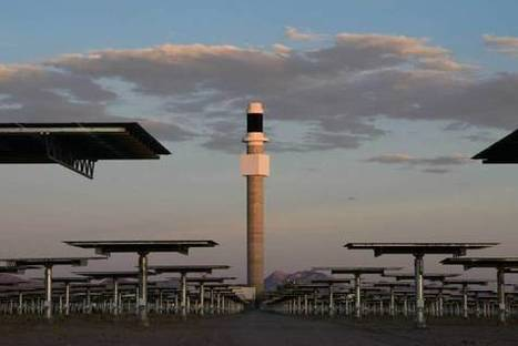 "This Solar Power Plant Can Run All Night (""mirrors and liquid salt provide better energy storage"") 