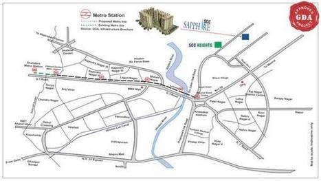 SCC Sapphire Luxury Residential Project Raj Nagar Extn | SCC Sapphire Raj Nagar Extension Ghaziabad | Scoop.it