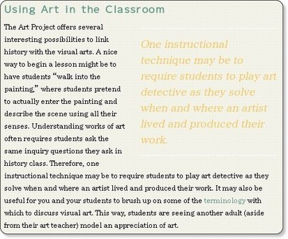 Cool Tools for 21st Century Learners: Google Art Project: Explore World Museums | Preparing Students for 2020 | Scoop.it