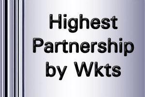 Test Highest Partnerships by wickets records list   ICC World Twenty20   Scoop.it