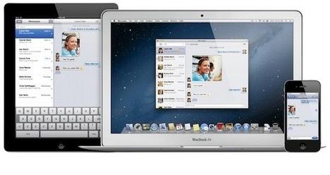 Apple OSX Mountain Lion Demo | An Eye on New Media | Scoop.it