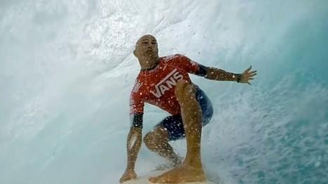 GoPro: Kelly Slater's Left Barrel At Sunset Beach – Vans Triple Crown 2013 | Action Sport | Scoop.it