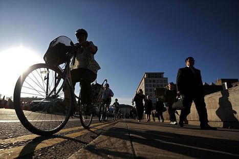 Biking or walking to work will make you happier and healthier | Gelukkig voor de klas | Scoop.it