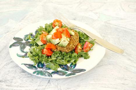 High-Protein Hemp Veggie Burger Recipe *Video | My Vegan recipes | Scoop.it