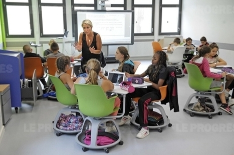 À Champagne-au-Mont d'Or, le collège du futur au premier learning Lab | questions d'éducation | Scoop.it