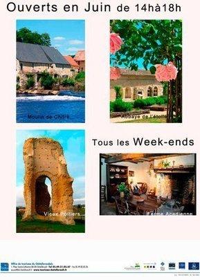 Ouverture des sites du pays châtelleraudais #chatellerault #sitestouristiques  @OTChatellerault | Chatellerault, secouez-moi, secouez-moi! | Scoop.it