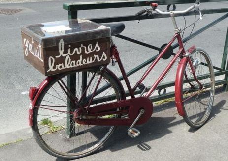 A Bagneux, un vélo pour partager ses vieux livres | Trucs de bibliothécaires | Scoop.it