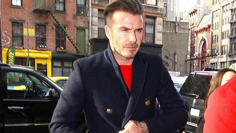 David Beckham, Trendy Hipster Street Artist | STREET POP | Scoop.it