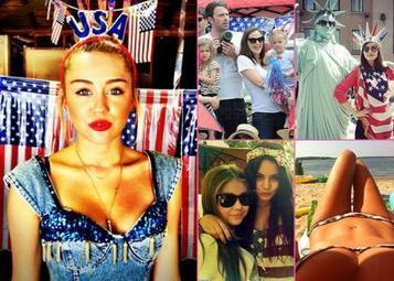 How the Stars Celebrated Celebrated Fourth of July 2012 | Morning Show prep | Scoop.it