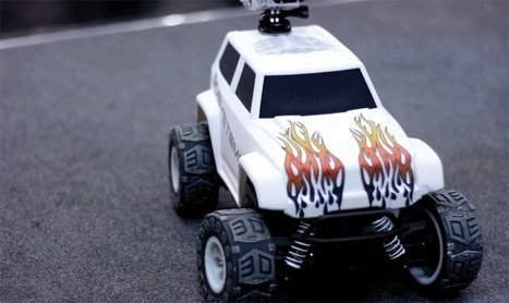 Using Multi-Material 3D Printing in the Euromold Remote-Controlled Truck | 3D Me | Scoop.it