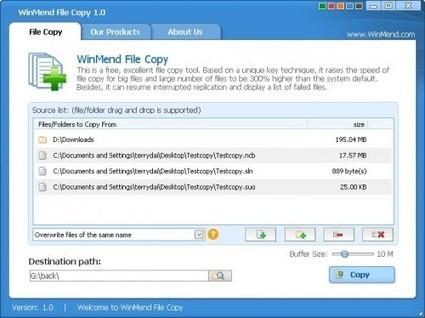5 utilitaires pour copier des fichiers | Le Top des Applications Web et Logiciels Gratuits | Scoop.it