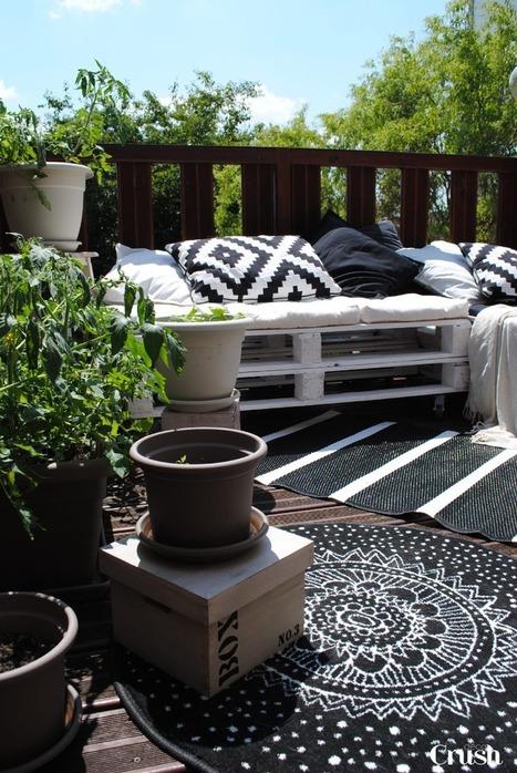 Décoration extérieure : Bienvenue sur ma petite terrasse d'été ! | décoration & déco | Scoop.it