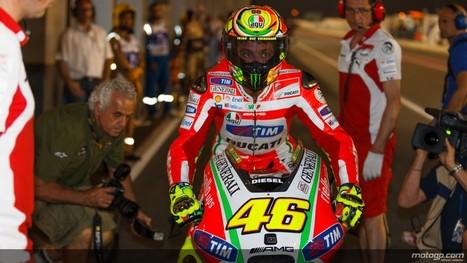 PhotosOfMotos | motogp.com | Valentino Rossi, Qatar QP | Ductalk Ducati News | Scoop.it