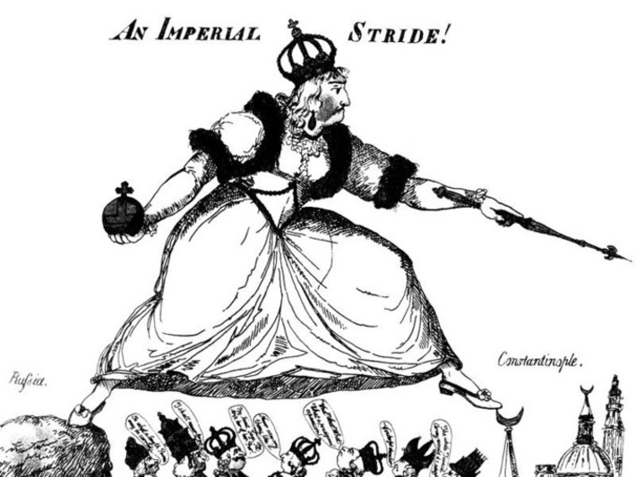 When Catherine the Great Invaded the Crimea and Put the Rest of the World on Edge | Herstory | Scoop.it