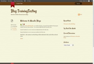 WordPress and Moodle LTI Stepsheet and Tutorial for Setup | Time to Learn | Scoop.it