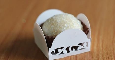 Recette de brigadeiro au dulce de leche, noix de coco (Brésil) | Desserts street food | Scoop.it