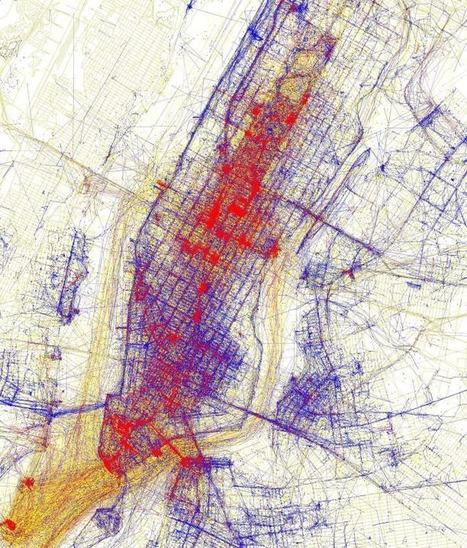 Tourists Vs Locals: 20 Cities Based On Where People Take Photos - Brilliant Maps | Barcelona green tourist | Scoop.it