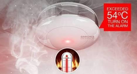 Présentation du détecteur de fumée Z-wave by Fibaro | Domotique Info | Scoop.it