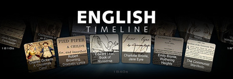 English Timeline | Skolbiblioteket och lärande | Scoop.it