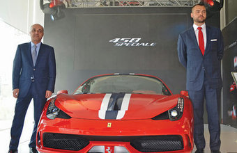 Ferrari 458 Speciale makes its debut in Oman - Muscat Daily | Cars | Scoop.it