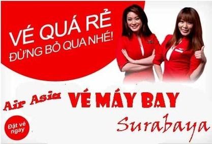 Vé máy bay Air Asia đi Surabaya | Ve may bay, Đặt mua vé máy bay tại đại lý vé máy bay Duy Đức cam kết giá rẻ nhất | Scoop.it