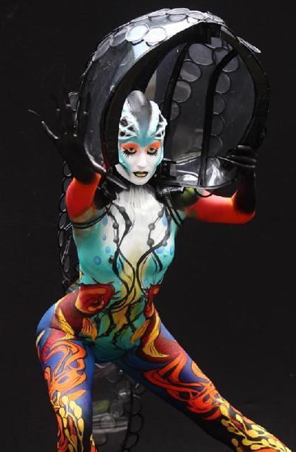 Arte: el body painting | Blogs en comunidad | Scoop.it