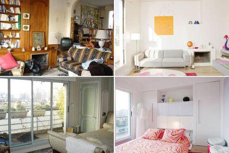 Visite d'un appartement parisien lumineux et pop | LM - Déco | Scoop.it