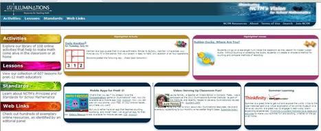 Illuminations: Math Activities & Lessons | Math | Scoop.it