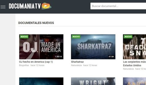 documaniatv, miles de documentales en español para ver online - Nerdilandia   Music & relax   Scoop.it